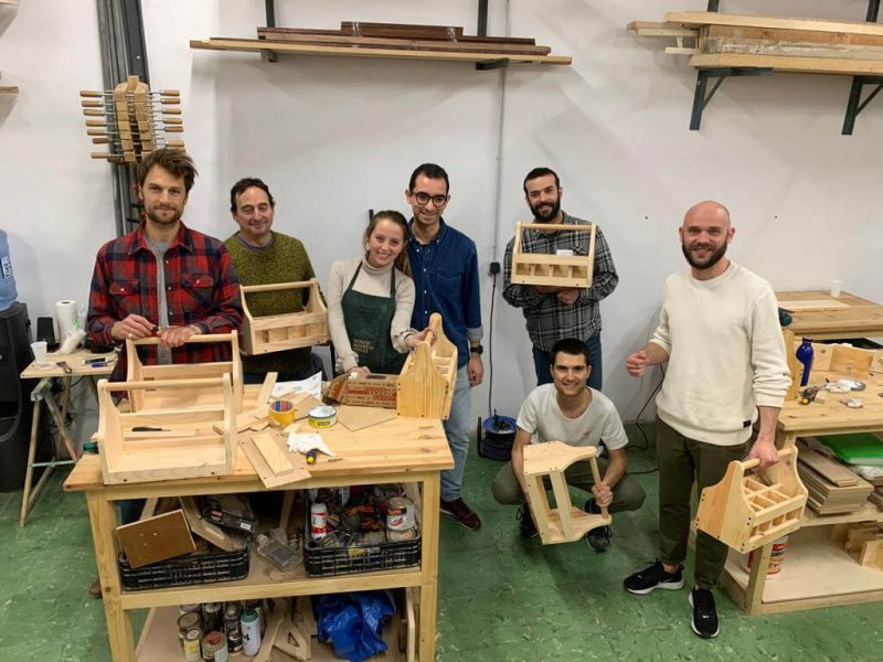 Woodworking course in Barcelona